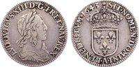 1/12 Écu, deuxième poincon de Warin 16 1643  A Frankreich Ludwig XIII. ... 75,00 EUR  zzgl. 3,50 EUR Versand