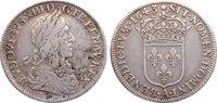 1/2 Écu 1 1643  A Frankreich Ludwig XIII. 1610-1643. Avers korrodiert, ... 175,00 EUR  zzgl. 3,50 EUR Versand