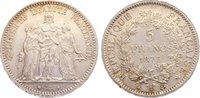5 Francs 1873  A Frankreich Dritte Republik 1870-1940. kl. Kratzer, vor... 40,00 EUR  zzgl. 3,50 EUR Versand