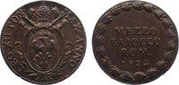 Cu 1/2 Baiocco An I / 1824 Italien-Kirchenstaat Leo XII. 1823-1829. fas... 50,00 EUR  zzgl. 3,50 EUR Versand