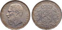 5 Francs 1874 Belgien, Königreich Leopold II. 1865-1909. min. Kratzer, ... 110,00 EUR  zzgl. 3,50 EUR Versand