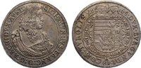 Taler 1665 Haus Habsburg Erzherzog Sigismund Franz 1663-1665. fast vorz... 895,00 EUR kostenloser Versand