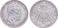 3 Mark 1909  A Schwarzburg-Sondershausen Karl Günther 1880-1909. Randfe... 90,00 EUR  zzgl. 3,50 EUR Versand