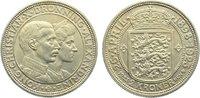 2 Kronen 1923 Dänemark Christian X. 1912-1947. vorzüglich  25,00 EUR  zzgl. 3,50 EUR Versand