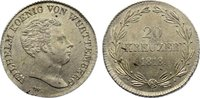 20 Kreuzer 1818  W Württemberg Wilhelm I. 1816-1864. min. Schrötlingsfe... 345,00 EUR  zzgl. 3,50 EUR Versand