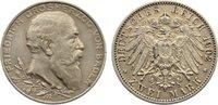 2 Mark 1902  G Baden Friedrich I. 1856-1907. sehr schön  25,00 EUR  zzgl. 3,50 EUR Versand