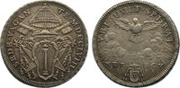 Mezzo Scudo (1/2 Scudo) 1758 Italien-Kirchenstaat Sedisvakanz 1758. Kra... 245,00 EUR  zzgl. 3,50 EUR Versand
