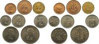 6 Pence 1956 Großbritannien Elisabeth II. seit 1952. vorzüglich bis prä... 30,00 EUR  zzgl. 3,50 EUR Versand