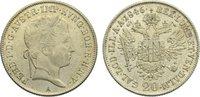 20 Kreuzer 1846  A Haus Habsburg Ferdinand I. 1835-1848. vorzüglich  / ... 25,00 EUR  zzgl. 3,50 EUR Versand