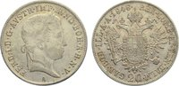 20 Kreuzer 1848  A Haus Habsburg Ferdinand I. 1835-1848. fast vorzüglich  12,00 EUR  zzgl. 1,00 EUR Versand