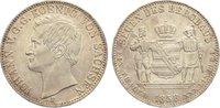 Ausbeutetaler 1858  F Sachsen-Albertinische Linie Johann 1854-1873. vor... 425,00 EUR free shipping