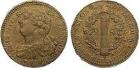 2 Sols 1792  BB Frankreich Ludwig XVI. 1774-1793. Randfehler, sehr schön  125,00 EUR  zzgl. 3,50 EUR Versand