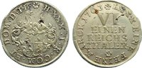 1/6 Taler 1763  IC Reuss, jüngere Linie (Gera) Heinrich XXX. 1748-1802.... 90,00 EUR  zzgl. 3,50 EUR Versand
