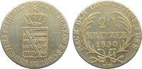 20 Kreuzer 1830  EK Sachsen-Coburg-Gotha Ernst I. 1826-1844. sehr schön  65,00 EUR  zzgl. 3,50 EUR Versand