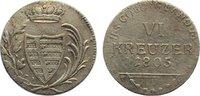 6 Kreuzer 1805  L Sachsen-Coburg-Saalfeld Franz Friedrich Anton 1800-18... 45,00 EUR  zzgl. 3,50 EUR Versand