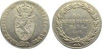 20 Kreuzer 1809 Nassau Friedrich August und Friedrich Wilhelm 1808-1816... 115,00 EUR  zzgl. 3,50 EUR Versand