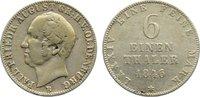 1/6 Taler 1846  B Oldenburg Paul Friedrich August 1829-1853. fast sehr ... 55,00 EUR  zzgl. 3,50 EUR Versand