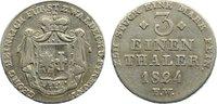 1/3 Taler 1824  FW Waldeck Georg Heinrich 1813-1845. min. Schrötlingsfe... 100,00 EUR  zzgl. 3,50 EUR Versand