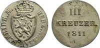 3 Kreuzer 1811 Nassau Friedrich August und Friedrich Wilhelm 1808-1816.... 85,00 EUR  zzgl. 3,50 EUR Versand
