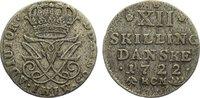 12 Skilling 1722 Norwegen Friedrich IV. 1699-1730. fast sehr schön  125,00 EUR  zzgl. 3,50 EUR Versand
