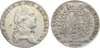 Ausbeutetaler 1786 Sachsen-Albertinische Linie Friedrich August III. 17... 285,00 EUR  zzgl. 3,50 EUR Versand
