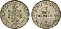 2 Neugroschen 1865  B Sachsen-Albertinische Linie Johann 1854-1873. vor... 25,00 EUR  zzgl. 3,50 EUR Versand