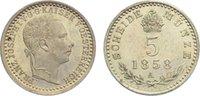 5 Kreuzer 1858  A Haus Habsburg Franz Joseph I. 1848-1916. fast Stempel... 20,00 EUR  zzgl. 3,50 EUR Versand