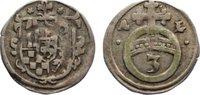 Dreier  1612-1615 Stolberg-Stolberg Heinrich XXII. und Wolfgang Georg 1... 325,00 EUR  zzgl. 3,50 EUR Versand