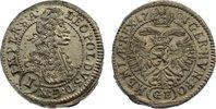 Kreuzer 1701  GE Haus Habsburg Leopold I. 1657-1705. vorzüglich +  125,00 EUR  zzgl. 3,50 EUR Versand