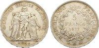 5 Francs 1877  A Frankreich Dritte Republik 1870-1940. fast vorzüglich  45,00 EUR  zzgl. 3,50 EUR Versand