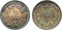 1/2 Mark 1915  E Kleinmünzen  fast Stempelglanz  15,00 EUR  zzgl. 1,00 EUR Versand