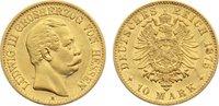 10 Mark 1875  H Hessen Ludwig III. 1848-1877. Gold, sehr schön +  385,00 EUR kostenloser Versand
