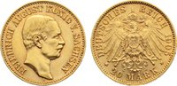20 Mark Gold 1905  E Sachsen Friedrich August III. 1904-1918. min. Rand... 445,00 EUR kostenloser Versand