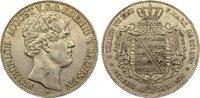 Doppeltaler 1851  F Sachsen-Albertinische Linie Friedrich August II. 18... 195,00 EUR  zzgl. 3,50 EUR Versand