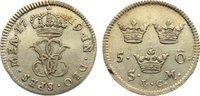 5 Öre 1 1719 Schweden Ulrika Eleonora 1718-1720. sehr schön +  165,00 EUR  zzgl. 3,50 EUR Versand