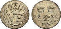 Öre 1 1720  LC Schweden Ulrika Eleonora 1718-1720. vorzüglich +  195,00 EUR  zzgl. 3,50 EUR Versand