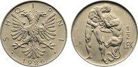 1/2 Lek 1926  R Albanien Ahmet Zogu, Präsident 1925-1928. fast Stempelg... 50,00 EUR  zzgl. 3,50 EUR Versand