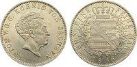 Taler 1836  G Sachsen-Albertinische Linie Anton 1827-1836. winz. Randfe... 375,00 EUR kostenloser Versand