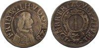 1/24 Taler 1653 Brandenburg-Preußen Friedrich Wilhelm 1640-1688. sehr s... 30,00 EUR  zzgl. 3,50 EUR Versand