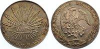 8 Reales 1889 Mexiko Zweite Republik seit 1867. feine Patina, vorzüglic... 145,00 EUR  zzgl. 3,50 EUR Versand