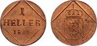 Cu Heller 1829 Bayern Ludwig I. 1825-1848. fast Stempelglanz  60,00 EUR  zzgl. 3,50 EUR Versand