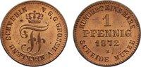 Cu Pfennig 1872  B Mecklenburg-Schwerin Friedrich Franz II. 1842-1883. ... 45,00 EUR  zzgl. 3,50 EUR Versand