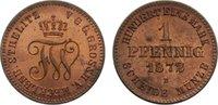 Cu Pfennig 1872  B Mecklenburg-Strelitz Friedrich Wilhelm 1860-1904. le... 65,00 EUR  zzgl. 3,50 EUR Versand