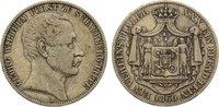 Taler 1860  B Schaumburg-Lippe Georg Wilhelm 1807-1860. sehr schön  125,00 EUR  zzgl. 3,50 EUR Versand