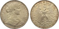 Taler 1865 Frankfurt, Stadt  kl. Randfehler, kl. Kratzer, fast vorzügli... 90,00 EUR  zzgl. 3,50 EUR Versand