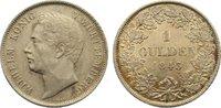 Gulden 1843 Württemberg Wilhelm I. 1816-1864. fast vorzüglich  65,00 EUR  zzgl. 3,50 EUR Versand