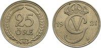 25 Öre 1 1921 Schweden Gustav V. 1907-1950. fast vorzüglich  15,00 EUR  zzgl. 1,00 EUR Versand
