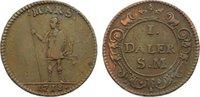 Cu 1 Daler 1718 Schweden Karl XII. 1697-1718. fast sehr schön  35,00 EUR  zzgl. 3,50 EUR Versand
