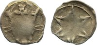 Mecklenburg Pfennig Anonym. 13./14. Jahrhundert..