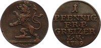 Cu Pfennig 1789 Reuss, ältere Linie zu Obergreiz Heinrich XI. 1723-1800... 35,00 EUR  zzgl. 3,50 EUR Versand